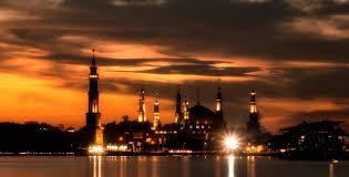 samarinda islamic center 4k wallpaper 4912x2499 islamic center