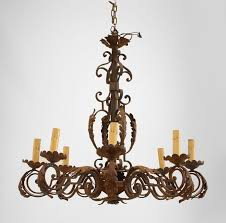 Italian Style Chandeliers Interesting Italian Wrought Iron Chandeliers As Your Own Personal