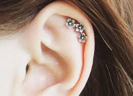 earring top of ear best 25 cartilage earrings ideas on helix earrings for