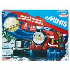 fisher price thomas u0026 friends minis advent calendar train set