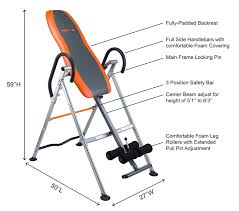 Inversion Table For Neck Pain by Amazon Com Innova Itx9300 Deluxe Inversion Table With Padded