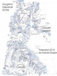 Baffin Bay On World Map by Haughton Napartulik And Simirlik Enviroramble