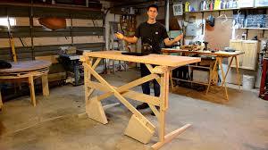Diy Build A Desk by Build A Convertible Standing Desk Best Home Furniture Decoration