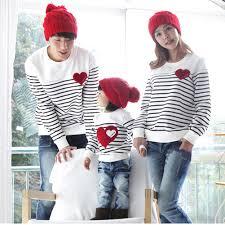 family fashion autumn winter family pack cotton set