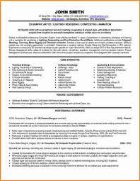 Sample Artist Resume by 6 Graphic Artist Resume Sample Invoice Template Download