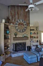 fireplace makeover with annie sloan chalk paint