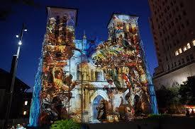 san fernando cathedral light show light show san fernando cathedral fotografía de san fernando de