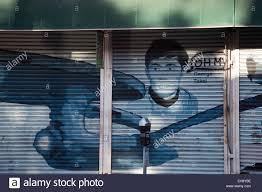 graffiti artwork of star trek actor george takei on a storefront graffiti artwork of star trek actor george takei on a storefront in hollywood los angeles california