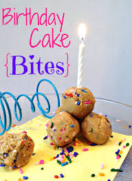 these birthday cake bites are delicious easy to make and super