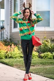 christmas sweater ideas 21 creative ideas for diy christmas sweaters gurl