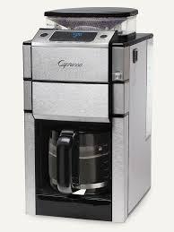 Coffee Grinder Espresso Machine Coffeeteam Pro Glass Coffee Maker U0026 Conical Burr Grinder Capresso