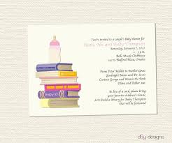 Dr Seuss Baby Shower Invitation Wording - themes diy book themed baby shower invitations together with