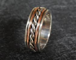 rustic mens wedding bands copper mens wedding band wedding bands wedding ideas and