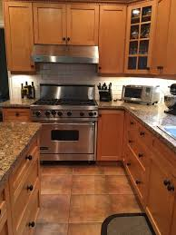 whether to paint or stain kitchen cabinets trekkerboy