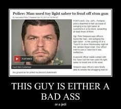 Badass Guy Meme - a badass or a jedi