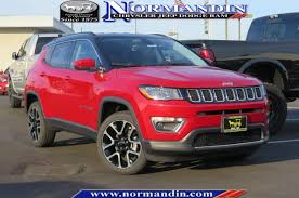 jeep compass limited red new 2018 jeep compass limited sport utility in san jose 18359
