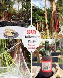 Halloween Decorations Outdoor Scary by Scary Outdoor Halloween Party Decorating Ideas Diy Inspired
