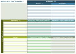 marketing campaign report template and 9 free strategic planning