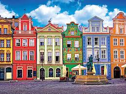 colorful building premium 350 piece puzzles kodak