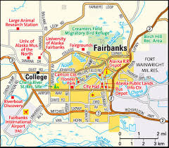Alaska Cities Map by Map Of Alaska