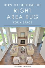choosing an area rug how to choose the right area rug