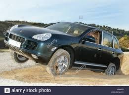New Porsche Cayenne - dpa testdrivers show the abilities of the new porsche cayenne