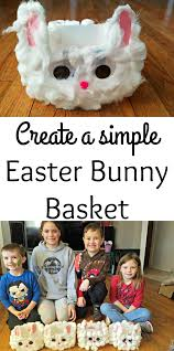 create an easter bunny basket the spring mount 6 pack