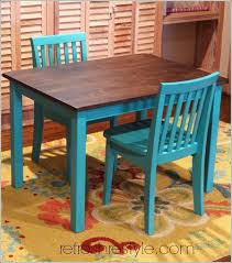 table and chairs for older kids seela