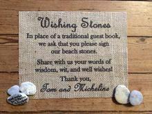 Wishing Rocks For Wedding Wishing Stones