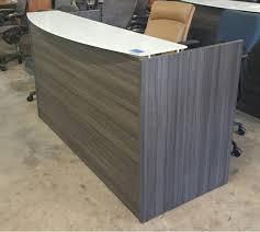 Gray Reception Desk Reception Common Sense Office Furniture