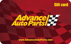 advance auto parts gift cards