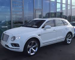 2017 bentley bentayga white 2016 bentley bentayga 6 0l w12 twin turbo jb lux automobile