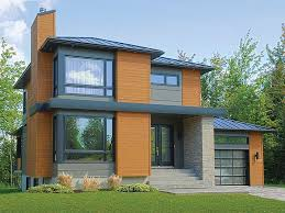 Contemporary Home Plans Contemporary House Plans Modern Two Story Home Plan 027h 0336