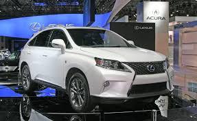 2013 lexus rx450h 2013 lexus rx is and gs 450h pricing announced autoguide com