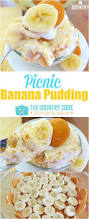 picnic banana pudding no cook recipe from the country cook