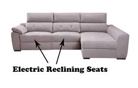 Electric Reclining Leather Sofa 51 Leather Reclining Corner Sofa Asturias Leather Electric