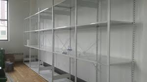 Used Steel Shelving by Shelving And Pallet Rack In Stock Nyc