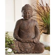 statue with buddhist statues one mind dharma