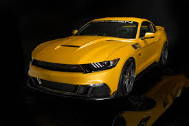 saleen saleen 302 black label mustang makes 730 hp costs 73k