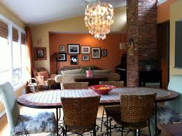 Dining Room And Living Room Combined by Tour My Old Home Simply Turquoise