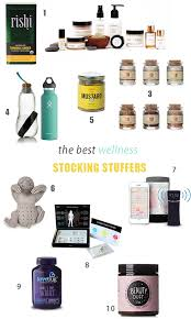healthy gifts the best healthy stuffers and wellness gifts