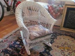 28 childrens wicker rocking chair antiques amp collectibles