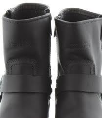 short black motorcycle boots harley davidson el paso short boots in black