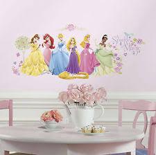 Disney Princess Room Decor Disney Princess Bedroom Decor Ebay