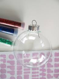 diy personalized glitter ornaments christmasornaments