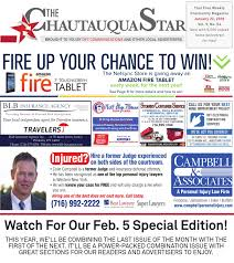 chautauqua star january 22 2016 by the chautauqua star issuu