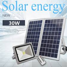 solar panel parking lot lights aliexpress com buy remote control and time control 30w outdoor led