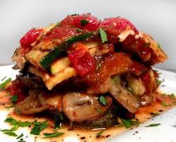 no carb no pasta grilled garden vegetable lasagna with basil