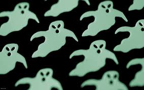 halloween ghosts desktop wallpaper iskin co uk