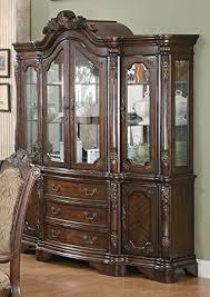 lexington furniture china cabinet endearing amazon com coaster furniture 103114 andrea dining china